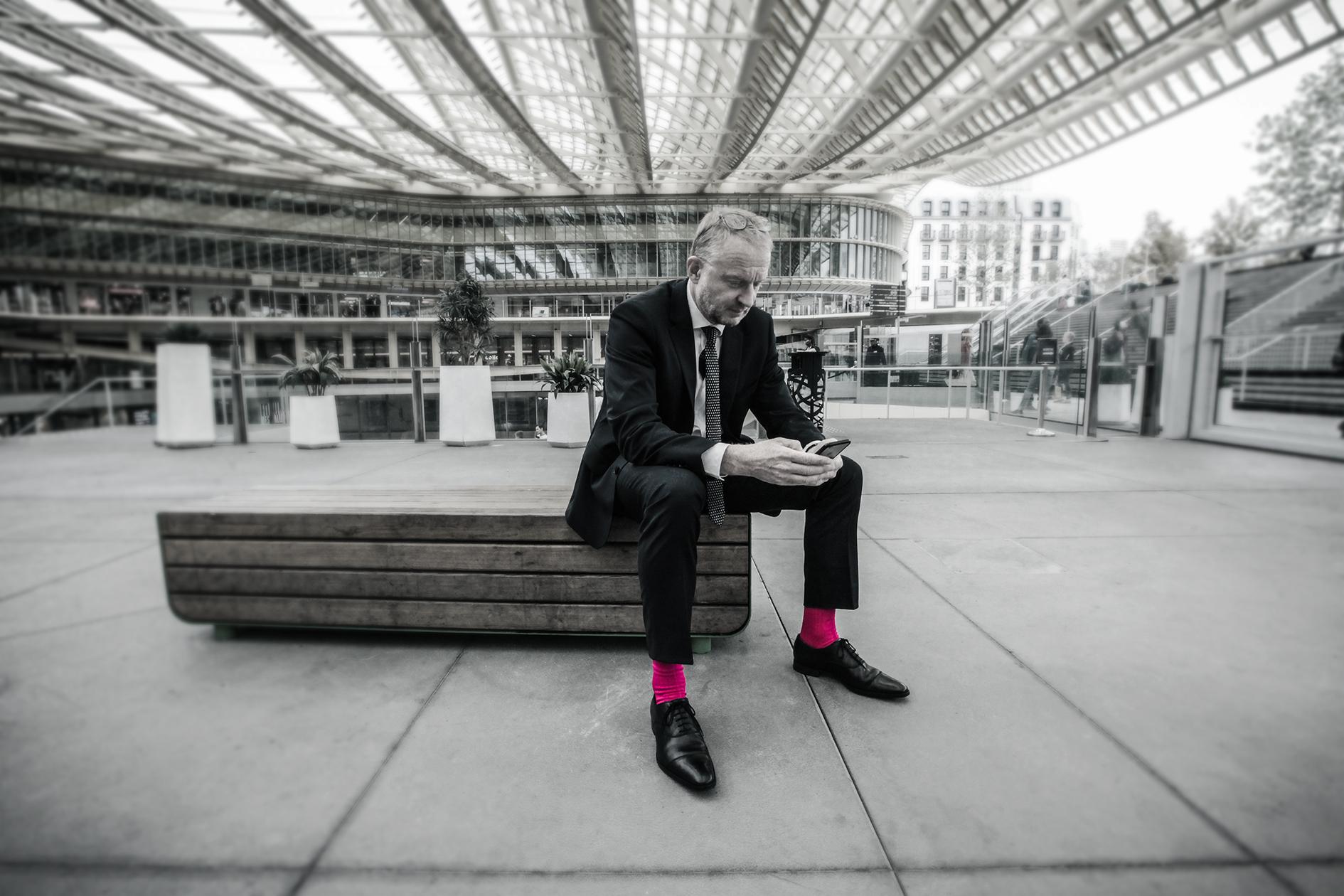 Chaussettes pour homme