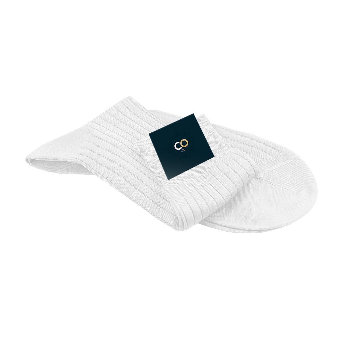 Chaussette blanc c'est blanc, Immaculé