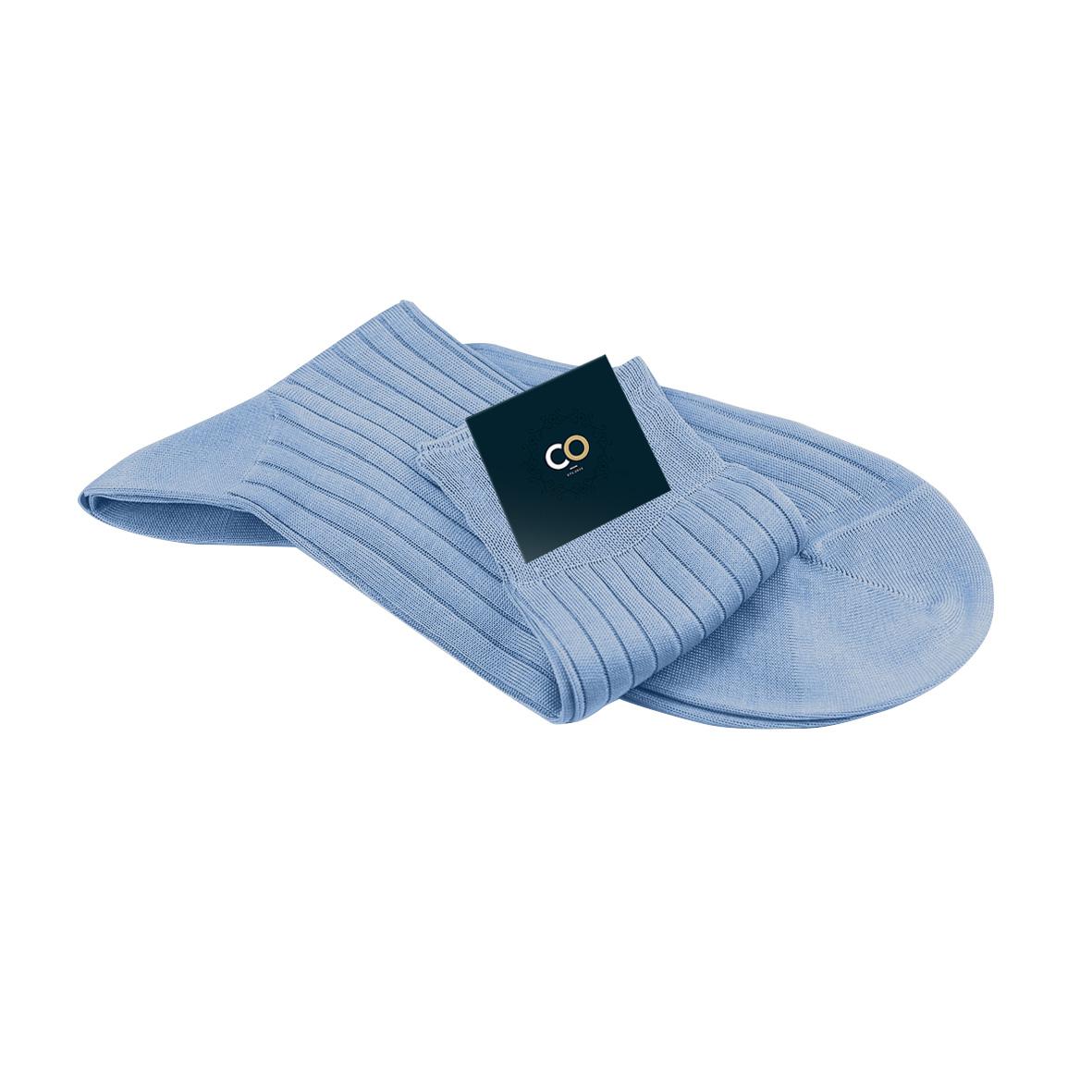 Chaussette Briac, Bleu layette