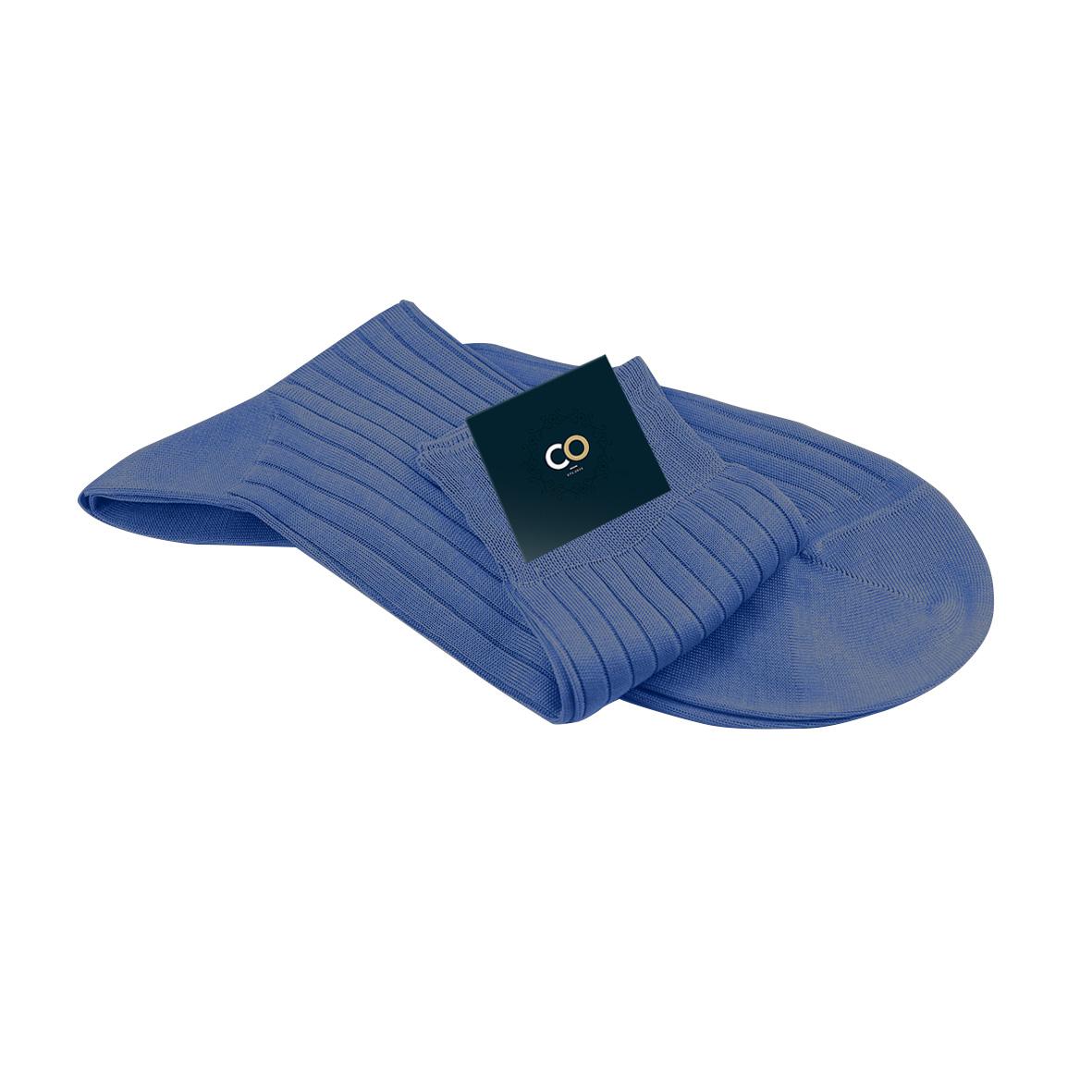 Chaussette bleu jean, Barnet