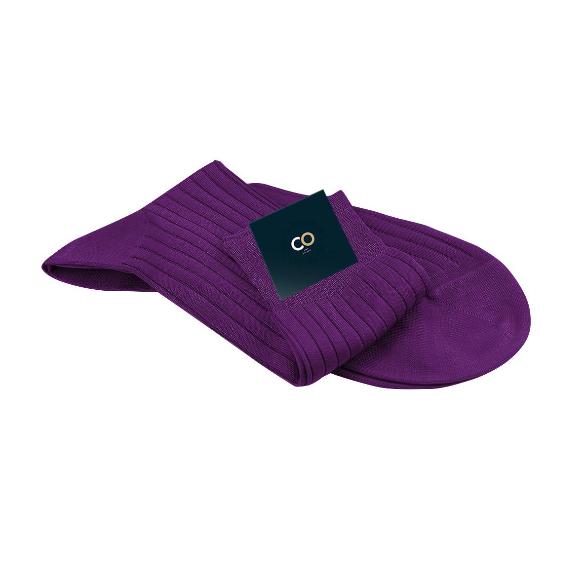 Chaussette Virgile, Hyper violet