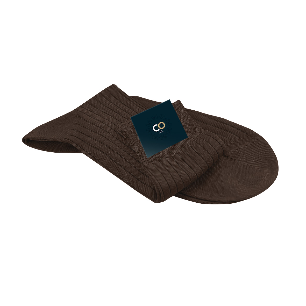 Chaussette marron chocolat, Medard